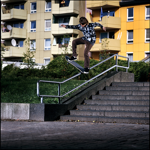 Riley Hawk - Bs Bluntslide
